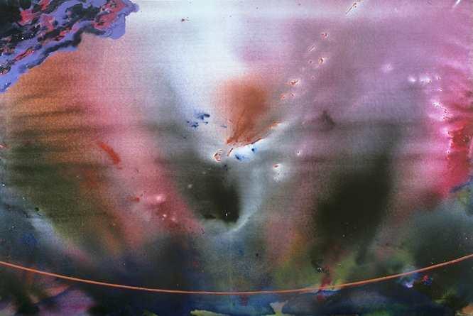 14N- Oracle o anell de traspas a la Sabiduria Cosmica T01049211 mixta 195x 130 cm. 1991
