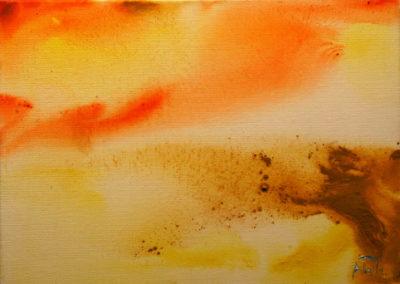 117- Grutes còsmiques III T04091303 acrílic 46 x 33 cm.