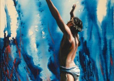 14- Prec de Crist T25119601 Téc. mixta 116 x 89 cm.