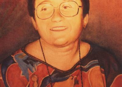 1984 Retrat Senyora Dominguez oli