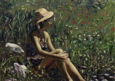 1988 Primavera 116 x 89 cm. Téc. mixta acrílic oli