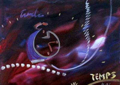1990 Temps T24039802 mixta 73 x 60 cm.
