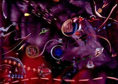 1991 Ciutadans còsmics T13010623 Mixta 92 x 73 cm.