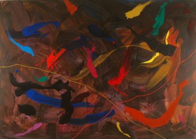 1992 Confluencia d'identitats T23039201 acrílic 162 x 114 cm.