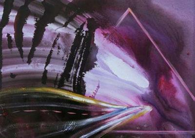 1995 Via egrègia T04089504 Téc. mixta 100 x 81 cm.