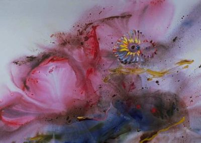 1997 Fecundació o Inmaculada concepció T24089701Téc. acrílica 195 x 130 cm.
