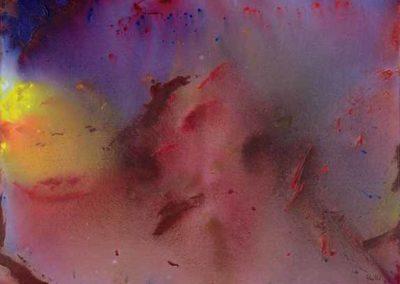 1997 Fons espai T22029702 acrílic 116 x 89 cm.