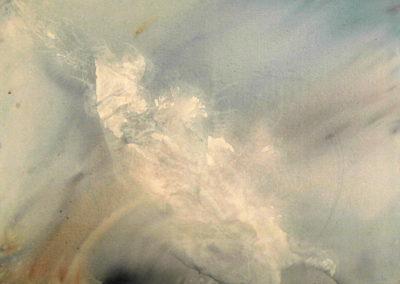 2002 Ecosistema submarí tortuga T09060201 acrílic 116 x 89 cm.
