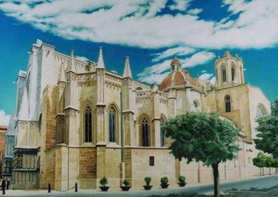2003 Catedral de Tarragona T15090301 Téc. oli 195 x 130 cm.