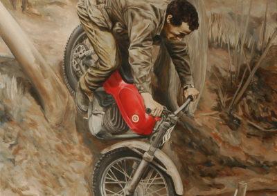 2015 Encàrrec Jordi, John Hemingway oli 130 x 97 cm.