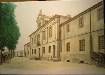 2017 Casa Misericordia de Jesús, Tortosa T02101701 Téc. oli 65 x 46 cm.