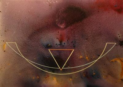 Avatar, torna, canvi T26021001 Téc. mixta 116 x 89 cm.