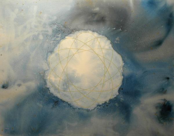 Art  existencialista de Sànchez Abelló, abstracció lírica, surrealisme, essencialisme còsmic.