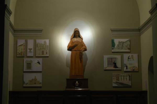 2018 finalització encàrrec capella Misericòrdia vida Santa Mª Rosa Molas