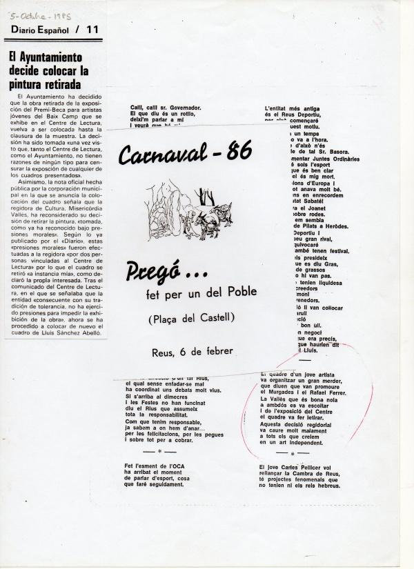 A2- 1985 Obra seleccionada al