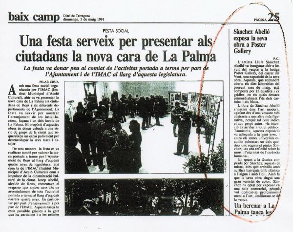 B4-1991 Diari Tarragona 5/5/91