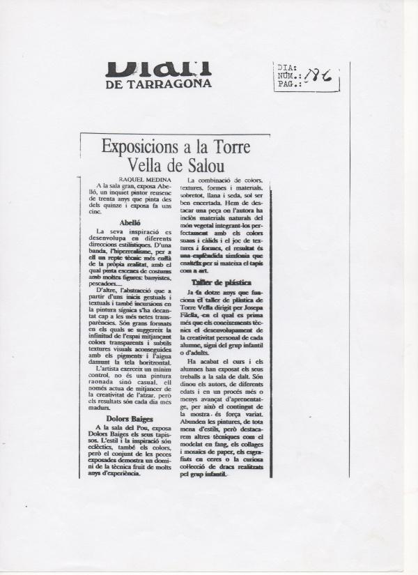 B6-1992 Diari de Tarragona
