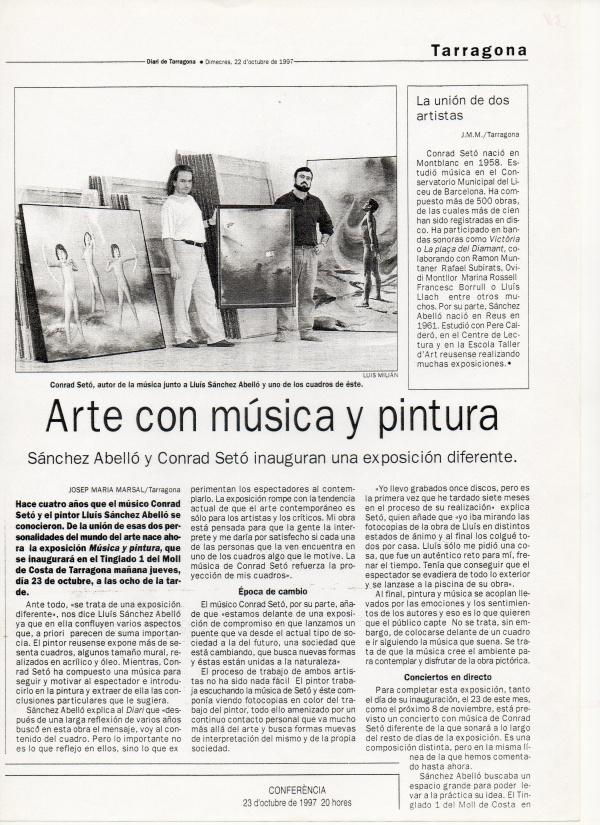 B8-1997 Diari de Tarragona 22/10/97