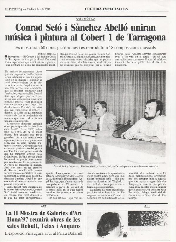B9-1997 El Punt 23/10/97