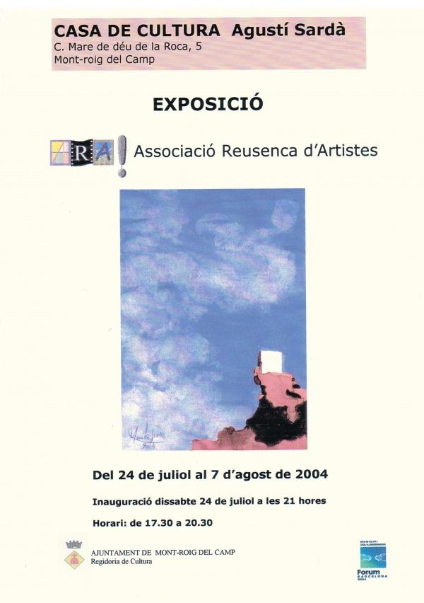 E1-2004 Mot-roig del Camp Associació Reusenca d´Artistes ARA