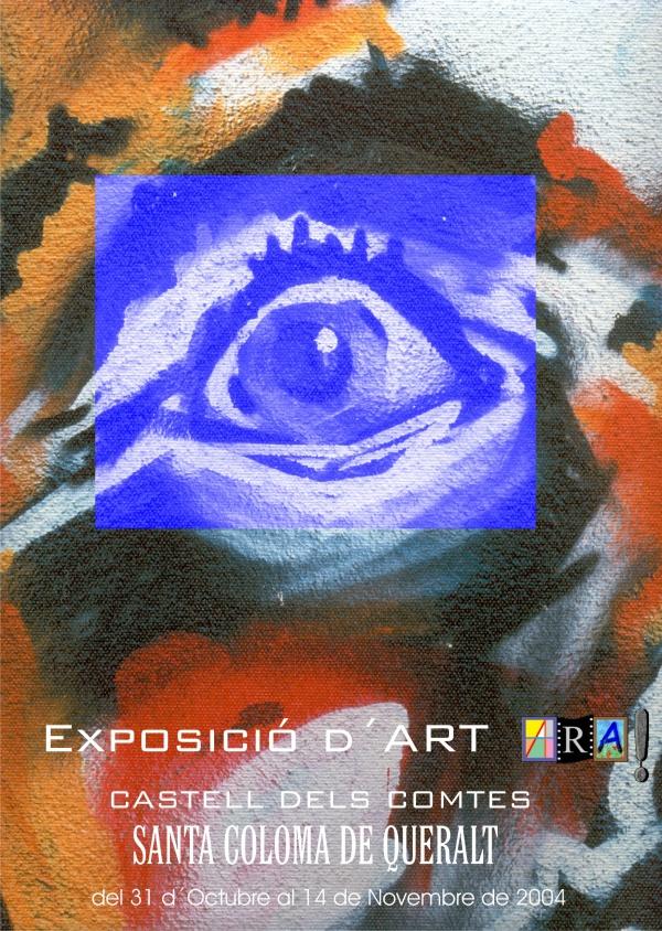 E4-2004 Santa Coloma de Queralt - Associació Reusenca d´Artistes ARA