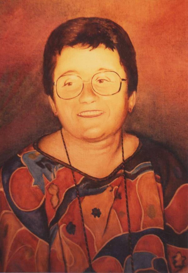 1984 portrait oil private collection.