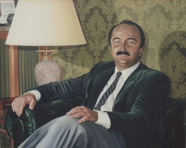1988 Portrait private collection.
