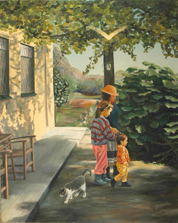 1989  162x130 cm. oil