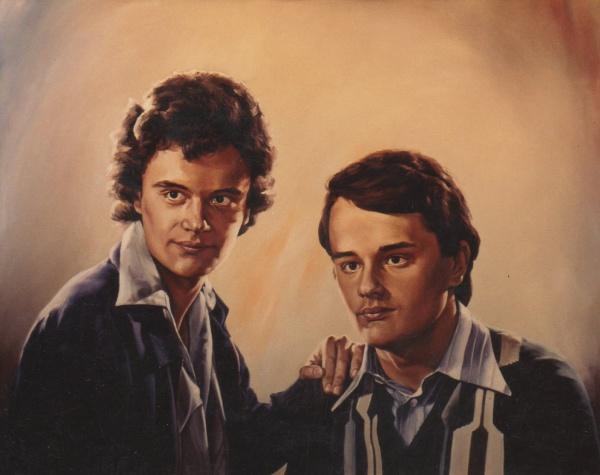 1989 portrait oil private collection.