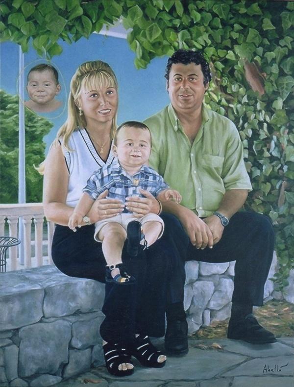 2000 Portrait T10020001 oil 116 x 89 cm. col.part.