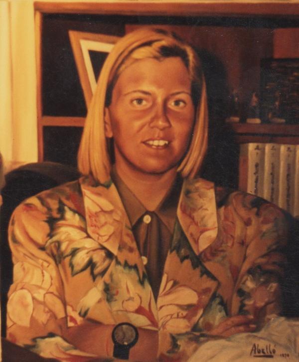 1992 Portrait oil private collection.