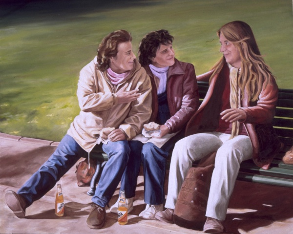 1984 the tres marias 100x81 cm. oil private collection.