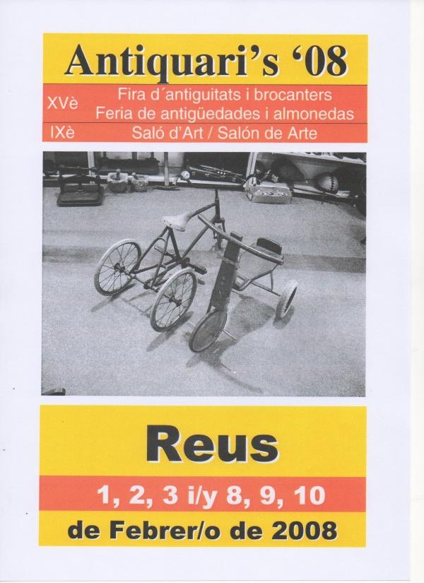 G5-2008 Antiquari's 08 - Reus
