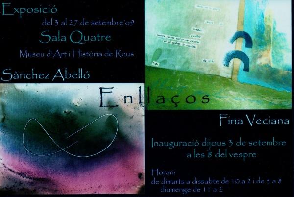 """H3-2009 """"Enllaços"""" Fina Veciana & Sánchez Abelló ."""