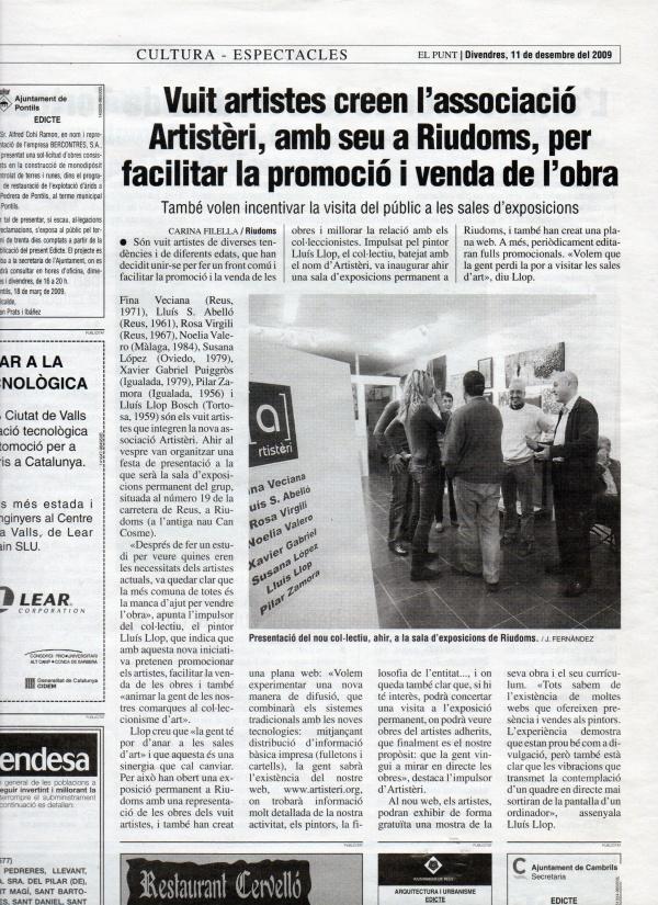 H5-2009 El Punt, 11-12-09