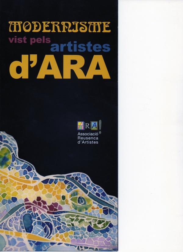 F6-2006 El Modernisme vist pels artistes d' ARA - Palau Bofarull - Reus