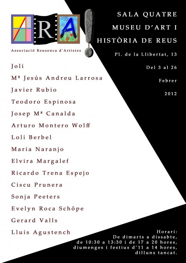 I2 - 2012 - ARA - Sala Quatre - Reus