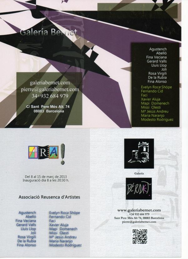 I6 - ARA - Galeria Bernet - Barcelona